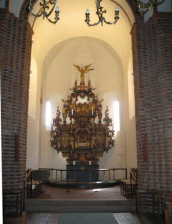 Kirke indvendig Kalundborg
